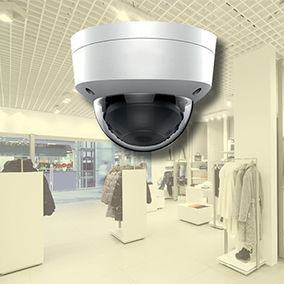 Winkelbeveiliging d.m.v. camerabewaking